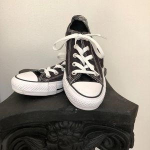 Black and White Converse Shoes